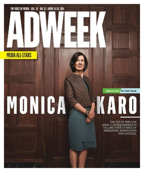 Adweek Cover - 4/14/2014