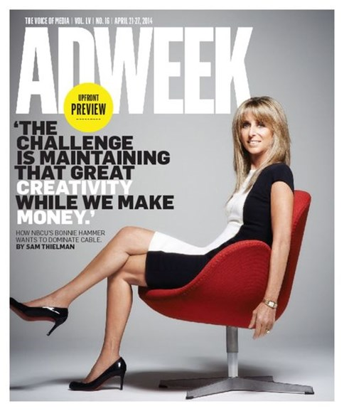 Adweek Cover - 4/21/2014