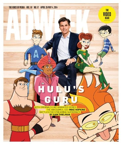 Adweek Cover - 4/28/2014