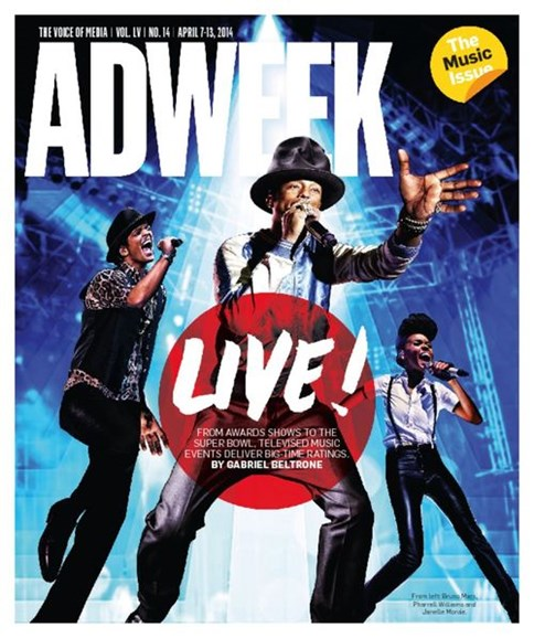 Adweek Cover - 4/7/2014