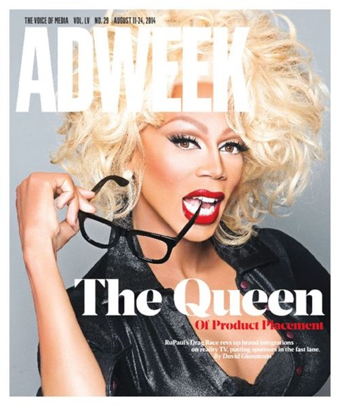 Adweek Cover - 8/11/2014