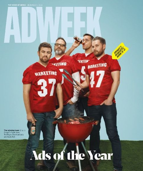 Adweek Cover - 12/1/2014