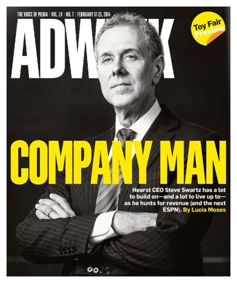 Adweek Cover - 2/17/2014