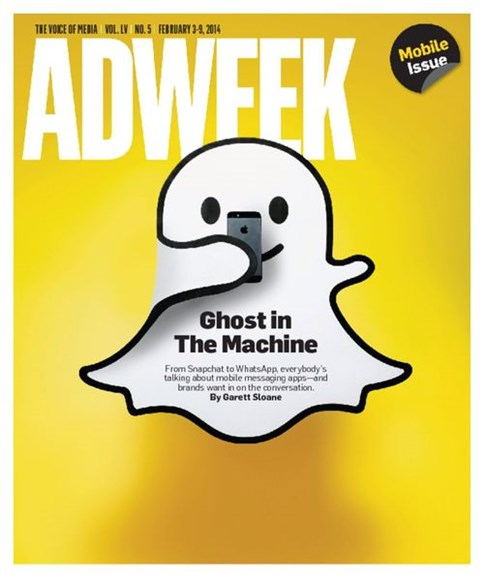 Adweek Cover - 2/3/2014