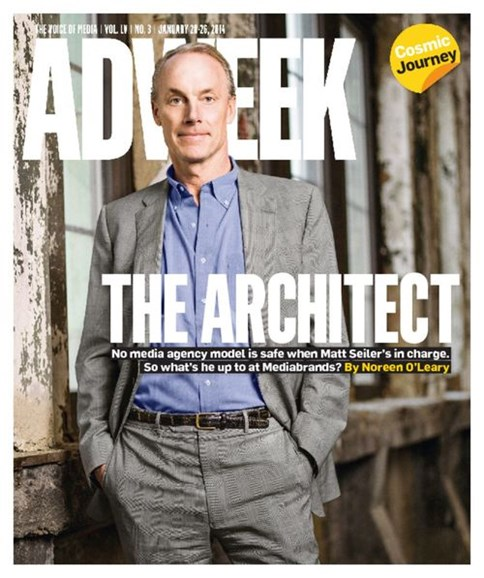 Adweek Cover - 1/20/2014