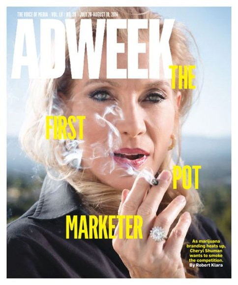 Adweek Cover - 7/28/2014