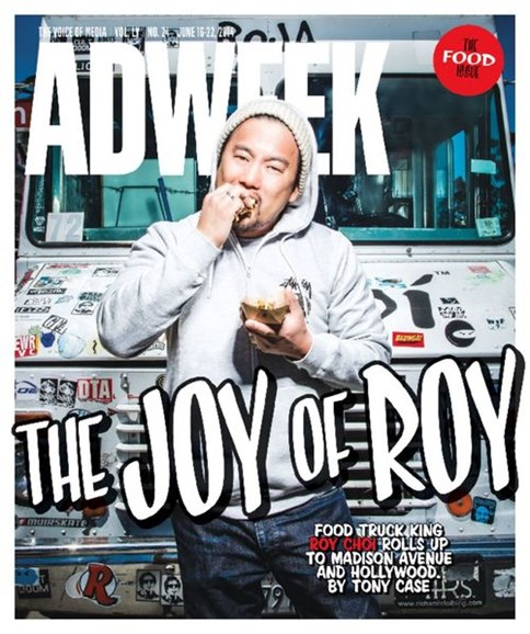 Adweek Cover - 6/16/2014