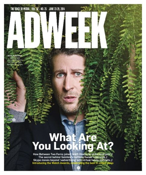 Adweek Cover - 6/23/2014