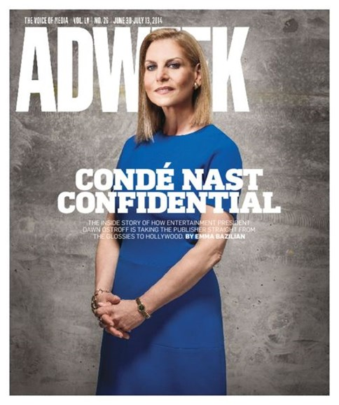 Adweek Cover - 6/30/2014