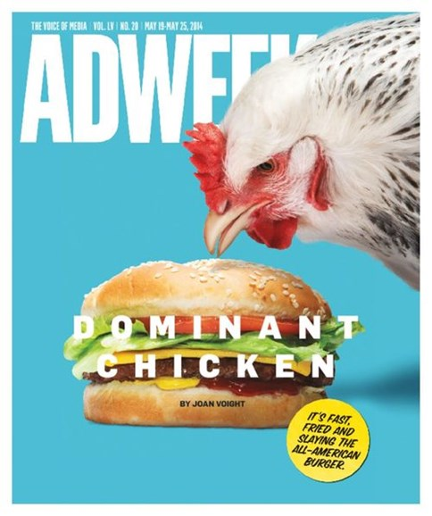 Adweek Cover - 5/19/2014