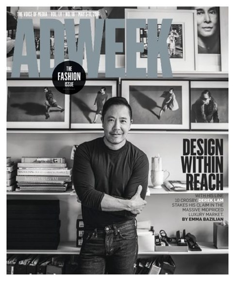 Adweek Cover - 5/4/2014