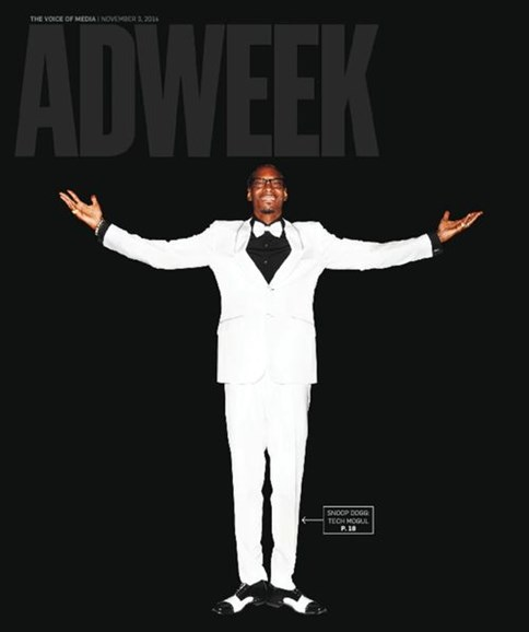 Adweek Cover - 11/3/2014