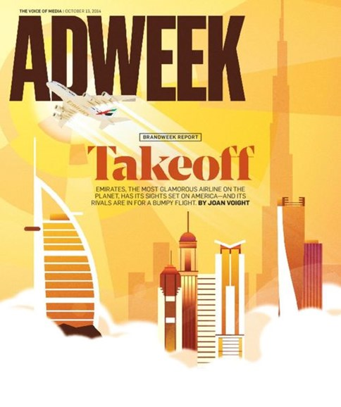 Adweek Cover - 10/13/2014
