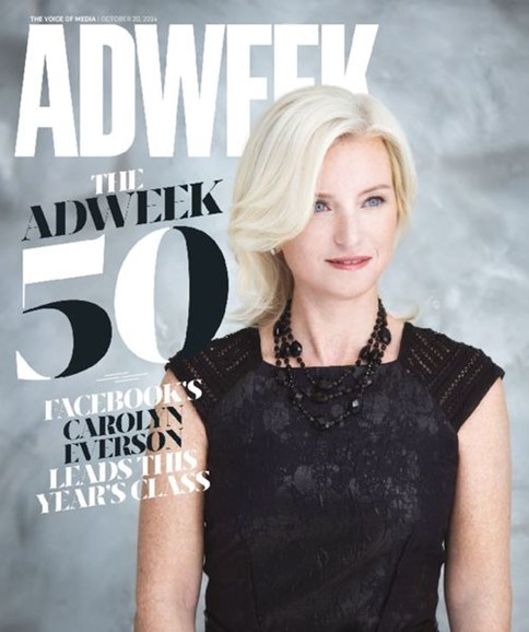 Adweek Cover - 10/20/2014
