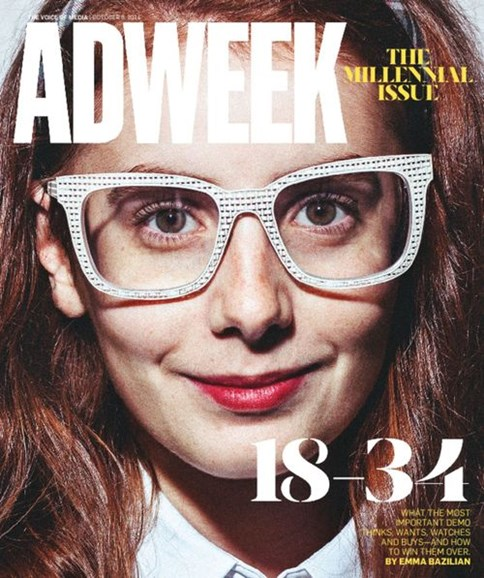 Adweek Cover - 10/6/2014