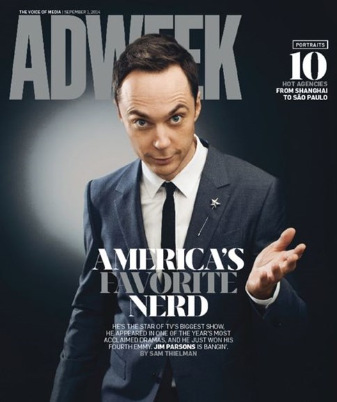 Adweek Cover - 9/1/2014