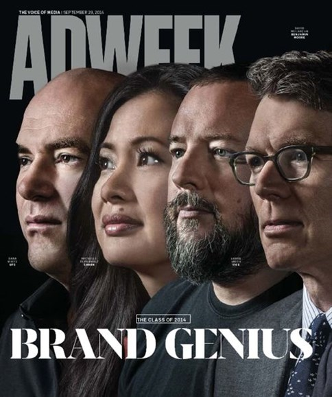Adweek Cover - 9/29/2014