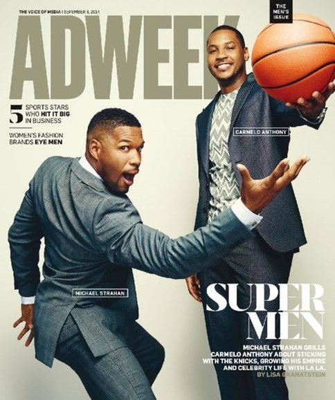 Adweek Cover - 9/8/2014