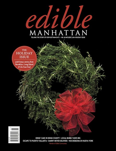 Edible Manhattan Cover - 11/1/2014