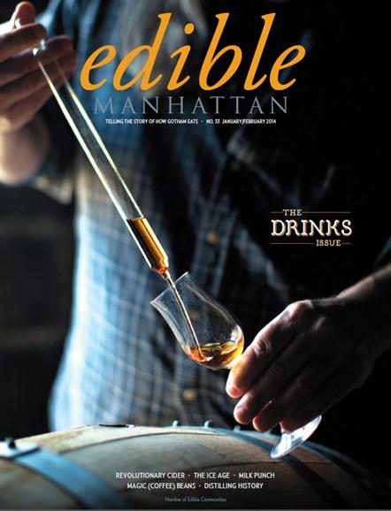 Edible Manhattan Cover - 1/1/2014