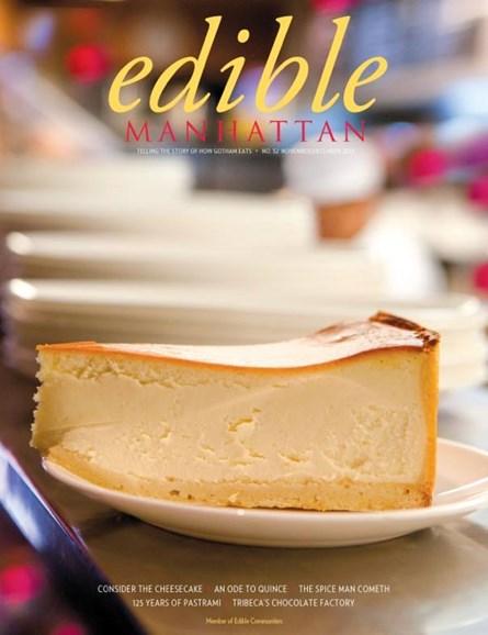 Edible Manhattan Cover - 11/1/2013