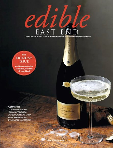 Edible East End Cover - 12/1/2014