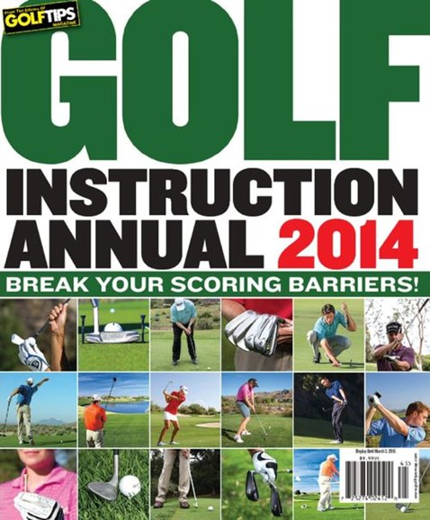 Golf Tips Cover - 12/1/2014