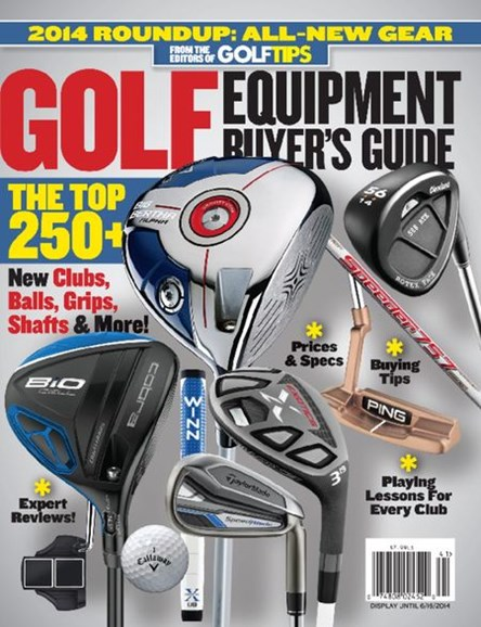 Golf Tips Cover - 1/1/2014