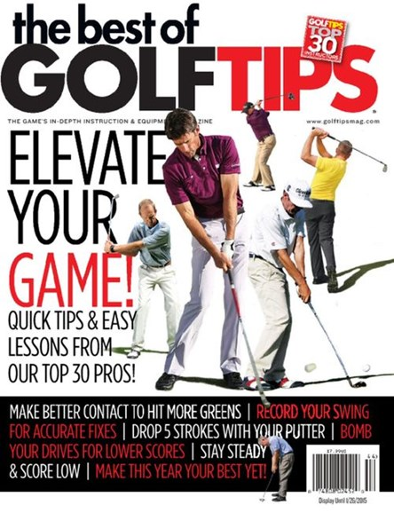 Golf Tips Cover - 9/1/2014
