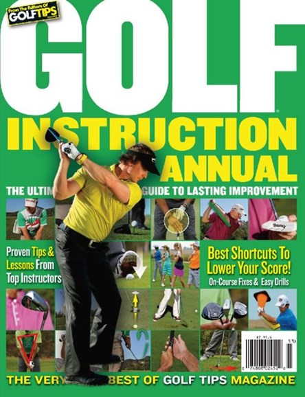 Golf Tips Cover - 12/1/2013