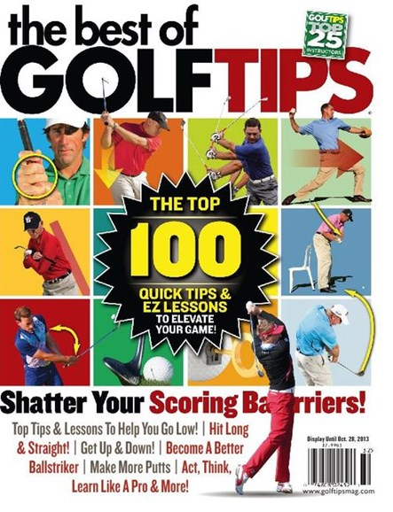 Golf Tips Cover - 9/1/2013