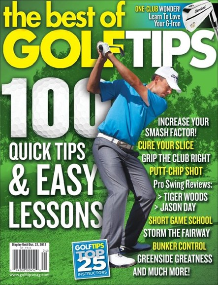 Golf Tips Cover - 9/1/2012