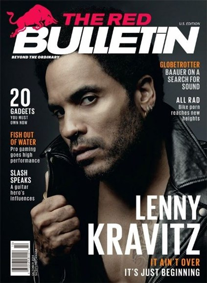 The Red Bulletin Cover - 10/1/2014