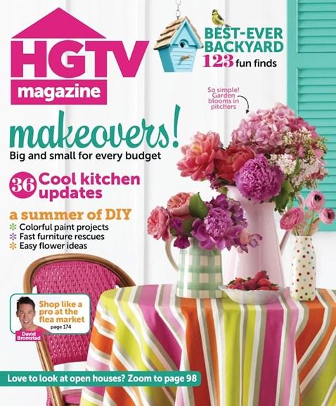 HGTV Cover - 7/1/2013
