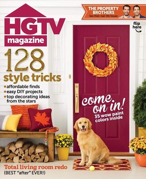 HGTV Cover - 11/1/2014
