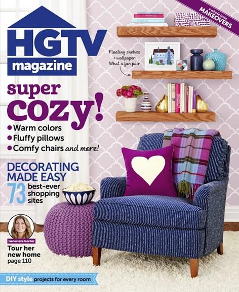 HGTV Cover - 10/1/2014