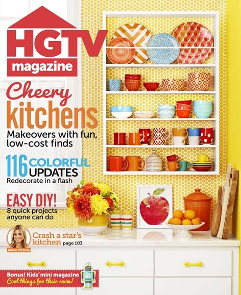 HGTV Cover - 9/1/2014