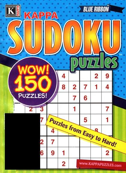 Blue Ribbon Kappa Sudoku Puzzles Cover - 12/1/2014