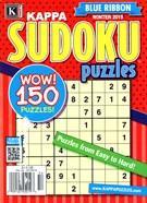Blue Ribbon Kappa Sudoku Puzzles Magazine 1/1/2015