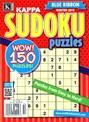Blue Ribbon Kappa Sudoku Puzzles Magazine | 1/2015 Cover