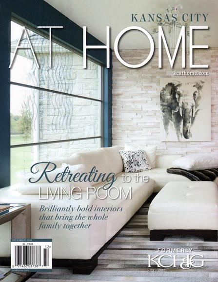 Kansas City Homes & Gardens Cover - 12/1/2014