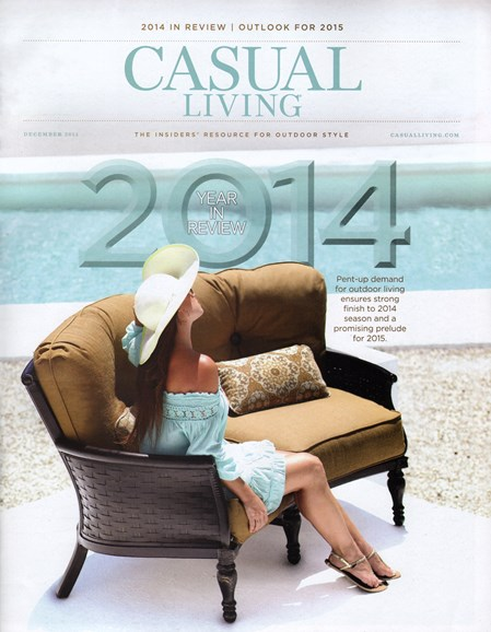 Casual Living Cover - 12/1/2014