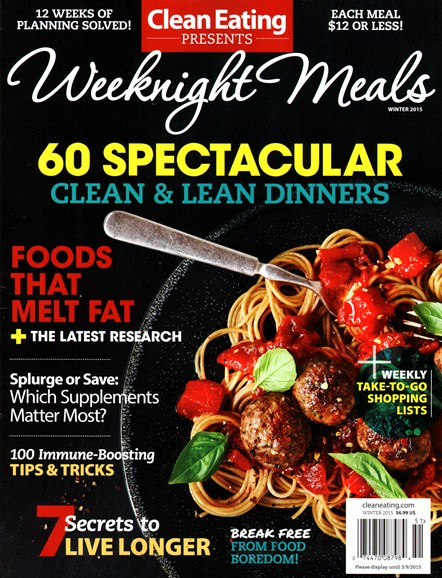 Clean Eating Cover - 12/1/2014