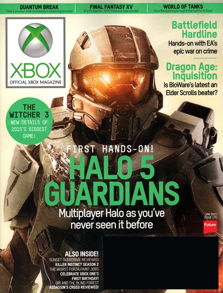 Official Xbox Magazine Cover - 1/1/2015