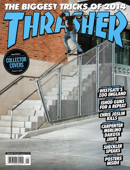Thrasher Cover - 1/1/2015
