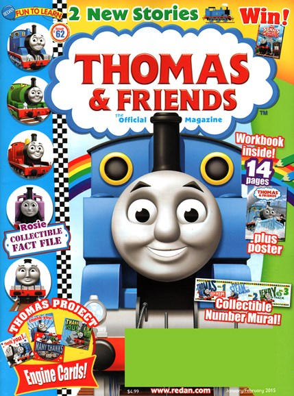 Thomas & Friends Cover - 1/1/2015