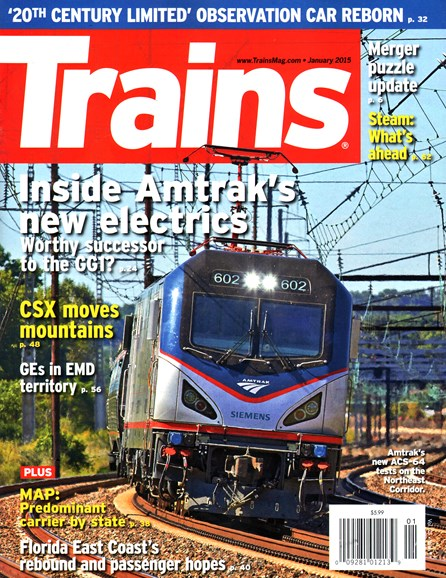 Trains Cover - 1/1/2015