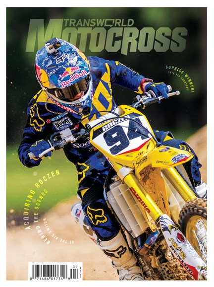 Transworld Motocross Cover - 1/1/2015