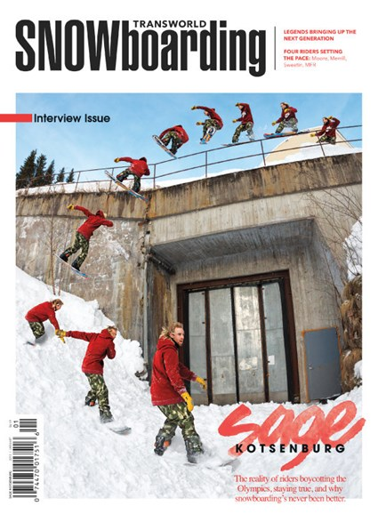 Transworld SNOWboarding Cover - 1/1/2015