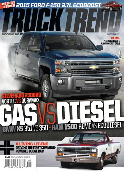 Truck Trend Cover - 1/1/2015